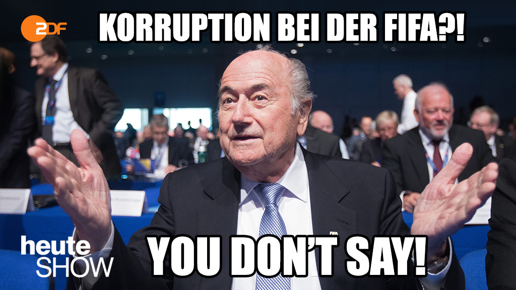 Korruption bei der Fifa!? You don't say!